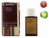 KORRES Vanilla Freesia Lychee Eau de Toilette 50ml, Women Fragrance!!!
