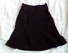 Vintage CHANEL CC logo fit and flare trumpet hem short mini skirt 24 waist XXS 4