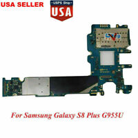 Main Motherboard For Samsung Galaxy S8 Plus SM-G955U 64GB Unlocked Android 7.0