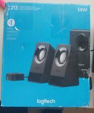 Logitech Compact Speaker System Z 213 Black