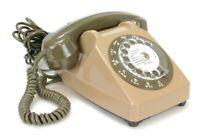 Ancien Téléphone fixe vintage à cadran Socotel 1980 (Réf#E-202)