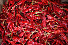 Kashmiri Chilli Pods Whole Sun Dried Kashmiri Chillies  Red - Direct from India