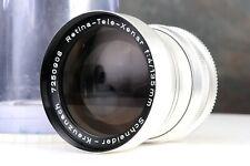 :Schneider Retina-Tele-Xenar 135mm f4 DKL Mount Lens w/ Case