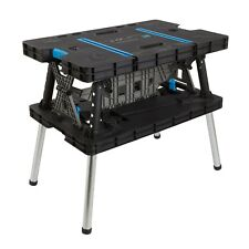 Keter Style Work Bench Portable Pliant Réglable Master table Pro & Clamps