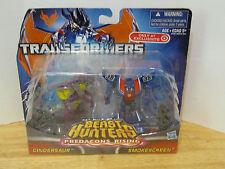 Transformers Prime Beast Hunters Predacons Rising Cindersaur Smokescreen 2 Pack