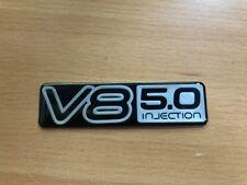 New Holden HSV HDT VN VP VQ VR VS SS Silver v8 5.0 Injection guard badge!