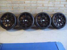 """Genuine 19"""" BMW MV4 225M M Sport Alloy Wheels E46 E90 E92 F32 Gloss Black M3 MV2"""