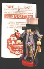 "Steinbach German Wooden Nutcracker Chubby ""Drosselmeyer� S1867 Limited New"