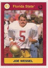 1991 Collegiate Collection Joe Wessel Florida State