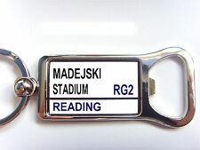 READING STADIUM BADGE STREET SIGN BOTTLE OPENER KEYRING GIFT