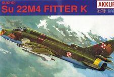 Sukhoi Su 22 M4/su 17 M4R (polaco AF, AF soviética en Afganistán) 1/72 akkura