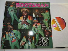 Rootsman-Mister Music Man... uk Love people records... vinyle/COVER: excellent