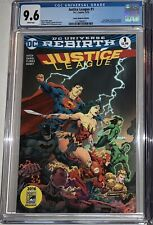 New listing Justice League 1 Comic Madness Variant Cgc 9.6