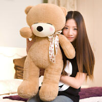 32'' Teddy Bear Giant Big Plush Huge Soft Toys Doll Stuffed Animals Brown Gifts