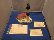 HARBOUR LIGHTS 1999 BIG SABLE POINT MICHIGAN LIGHTHOUSE COA SIGNED B. YOUNGER
