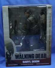 "The Walking Dead Daryl Dixon Survivor Edition Variant Bloody 10"" Action Figure"