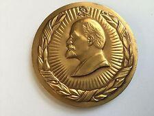 60 years Kyrgyz SSR 1924 - 1984 Soviet Russian USSR desk medal СССР ЛЕНИН