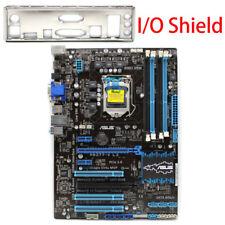Motherboard for ASUS P8Z77-V LX  Intel Z77 LGA1155 DDR3 I/O Shield Tested