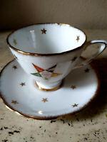 Eastern Star OES Tea Cup Saucer Royal Stafford Bone China England