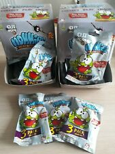 Nommies Micro Figures Cut the Rope Blind Bags New and sealed 3 figures per bag