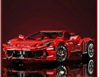 Lego Megabloks Compatibil100% Technic 3380pz ☆ MOC FERRARI 458 1/8 ☆ NO SET LUCI