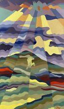 Sonnenstrahlen Geometrisch Expressiv Kubismus Bunt Seventies Modern