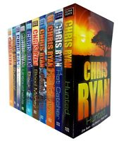 Chris Ryan 10 Books Collection Set Pack Alpha Force Vol 1-10 Paperback Hunted