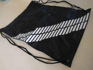Bontrager XXX Cycling Shoe Shoes Bag Case Black White Laces Storage Sweat New