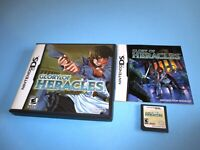 Glory of Heracles Nintendo DS Lite DSi XL 3DS 2DS Game w/Case & Manual