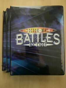 Doctor Who Battles In Time Complete TEST SET