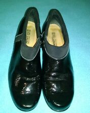 Naot Women's Black Patent Leather Side Zip Ankle Boots Size US 8 EU 39