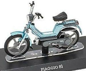Piaggio Si 50 Cc 1970er-90er Moped Mofa Moped Green 1:18 Atlas
