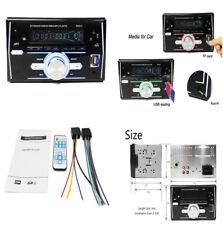 2 DIN LCD Car MP3 ID3 WMA Player FM Radio Audio Head Unit Bluetooth Hands-free
