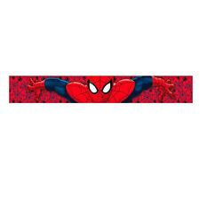 Spiderman Spiderman Schal aus weich rot Einheitsgröße von Kind