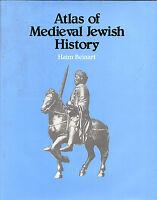 HAIM BEINART - ATLAS OF MEDIEVAL JEWISH HISTORY - SIMON & SCHUSTER HB/DW (1982)