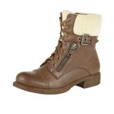 Zip Block Heel Synthetic Dolcis Boots for Women