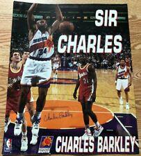 "Charles Barkley Poster 16"" x 20"" Phoenix Suns NBA Dominque Wilkins Tom Chambers"