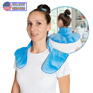 Warm Cooling Neck Shoulder Wrap Pad Herbal Aromatherapy Soothing Muscle Tension