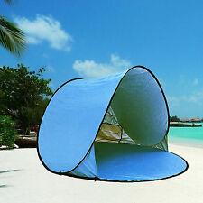 Automatic Pop Up Beach Tent XXL Portable Lightweight Sun Shelter Stable Cabana