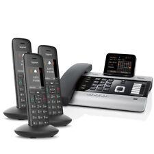 Gigaset DX800A Voice over IP- / ISDN-Mini-Telefonanlage mit 3x Mobilteil C570HX