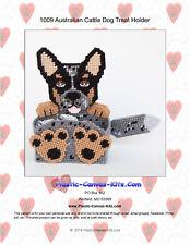 Australian Cattle Dog Treat Holder- Plastic Canvas Pattern or Kit