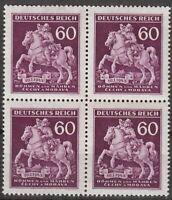 Stamp Germany Bohemia B&M Mi 113 Sc 84 Block 1943 WWII 3 Reich Postal Horse MNH