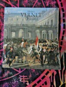 LIBRO D'ARTE HORACE VERNET 1789 1863 ACCADEMIA FRANCIA ROMA DE LUCA EDITORE 1980