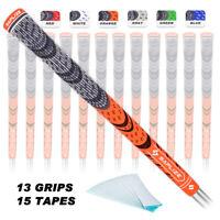 SAPLIZE Golf Grips Midsize(13pcs)Anti-slip Multi Compound Grips 6 Color Optional