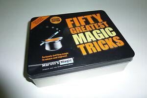 Fifty Greatest Magic Tricks - Zauberkasten in Blechbox - Guter Zustand