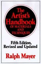 The Artist's Handbook of Materials and Techniques 9780670837014 by Ralph Mayer