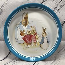Vintage Beatrix Potter Peter Rabbit Metal Serving Tray Frederick Warne England