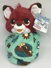 Disney Parks Princess Baby Tod in Blanket Pouch Plush New with Tags