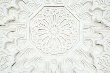 Ceiling Rose 93cm DIA Gypsum Plaster Cornice, Moroccan Ceiling Centrepiece