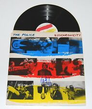 ANDY SUMMERS signed (THE POLICE) RECORD ALBUM LP *SYNCHRONICITY* W/COA